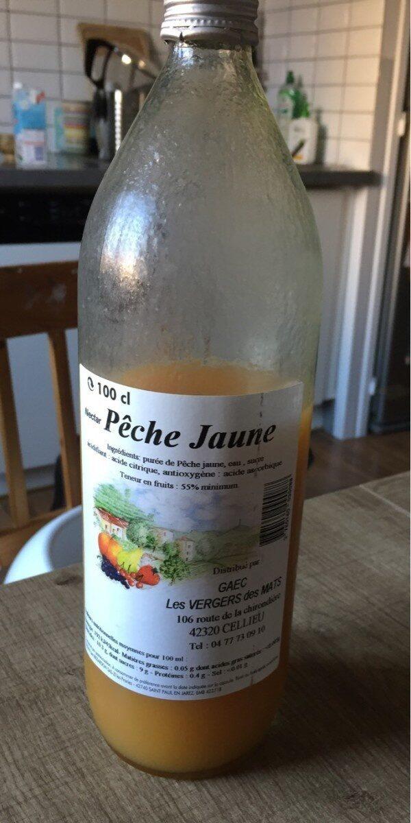 Nectar peche jaune - Prodotto - fr