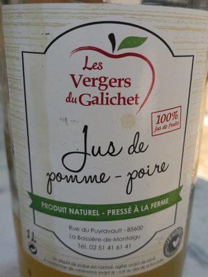 Jus de pomme-poire - Produit - fr