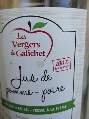 Jus de pomme-poire - Ingrédients - fr