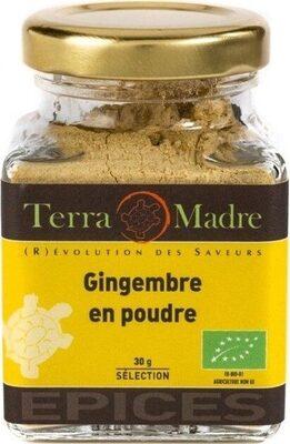 Gingembre En Poudre Bio / Ground Ginger Organic Spice - Prodotto - fr