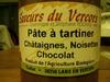 Pâte à tartiner châtaignes, noisettes, chocolat - Product