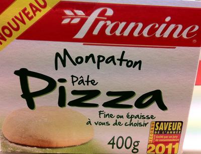 Monpaton Pâte à pizza - Product - fr