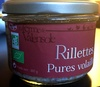Rillettes pures volailles - Product