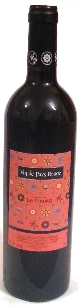 Vin de pays rouge - Domaine de la Perdrix - Produit - fr