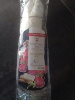 Saucisson sec de savoie beaufort AOP - Product