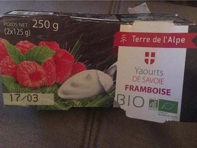 Yaourts framboise - Produit - fr