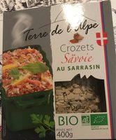Crozets de Savoie au sarrasin - Produit