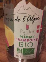 Pur jus pommé framboise bio - Product