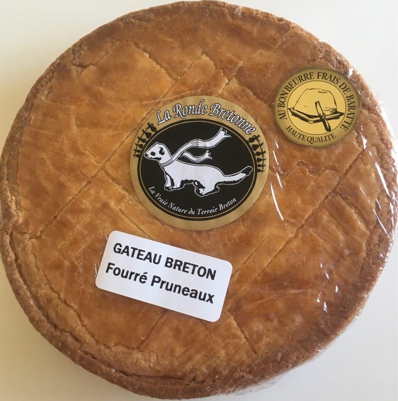 Gâteau Breton Fourré Pruneaux - Produit