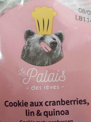 Cookie au cranberries lin et quinoa - Produit - fr