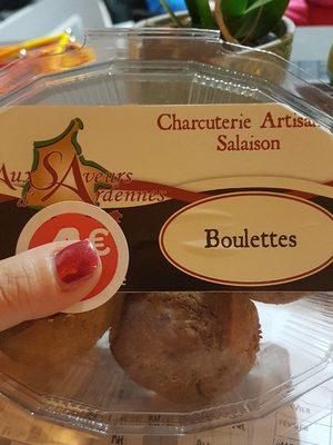 Boulettes de Viande au Bœuf et Oignons - Product