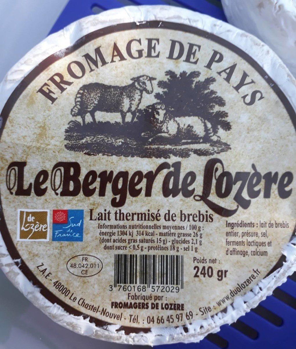 Le Berger de Lozere FROMAGERS DE LOZERE - Product