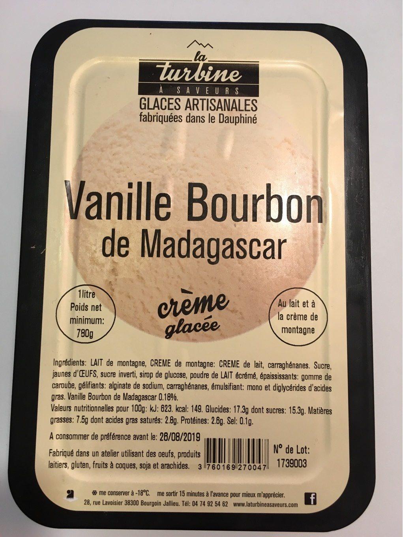 Glace Vanille de Madagascar 1 L - Produit - fr