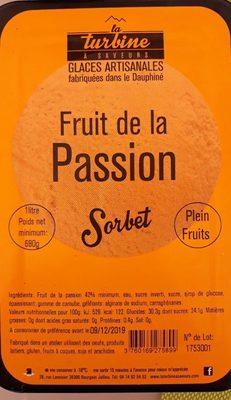 Sorbet fruit de la passion - Prodotto - fr