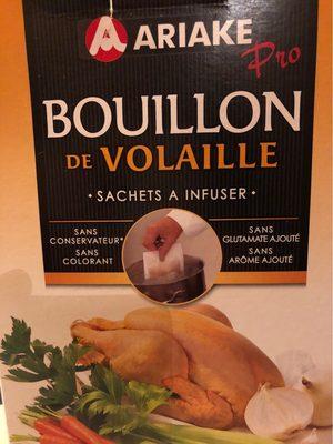430G Bouillon Volaille Ariake - Informations nutritionnelles - fr