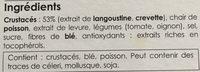 Bouillon De Crustacés - Ingredients - fr