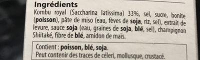 Bouillon japonais - Ingredients - fr