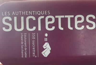 Les authentiques Sucrettes - Produit