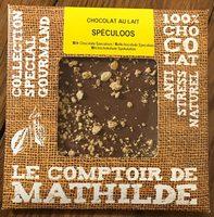 Chocolat au lait - Spéculoos - Product - fr