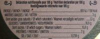 Baba Au Rhum - Nutrition facts - fr