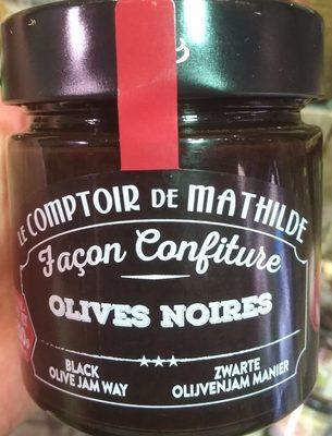 Olives Noires Façon Confiture - Produit - fr