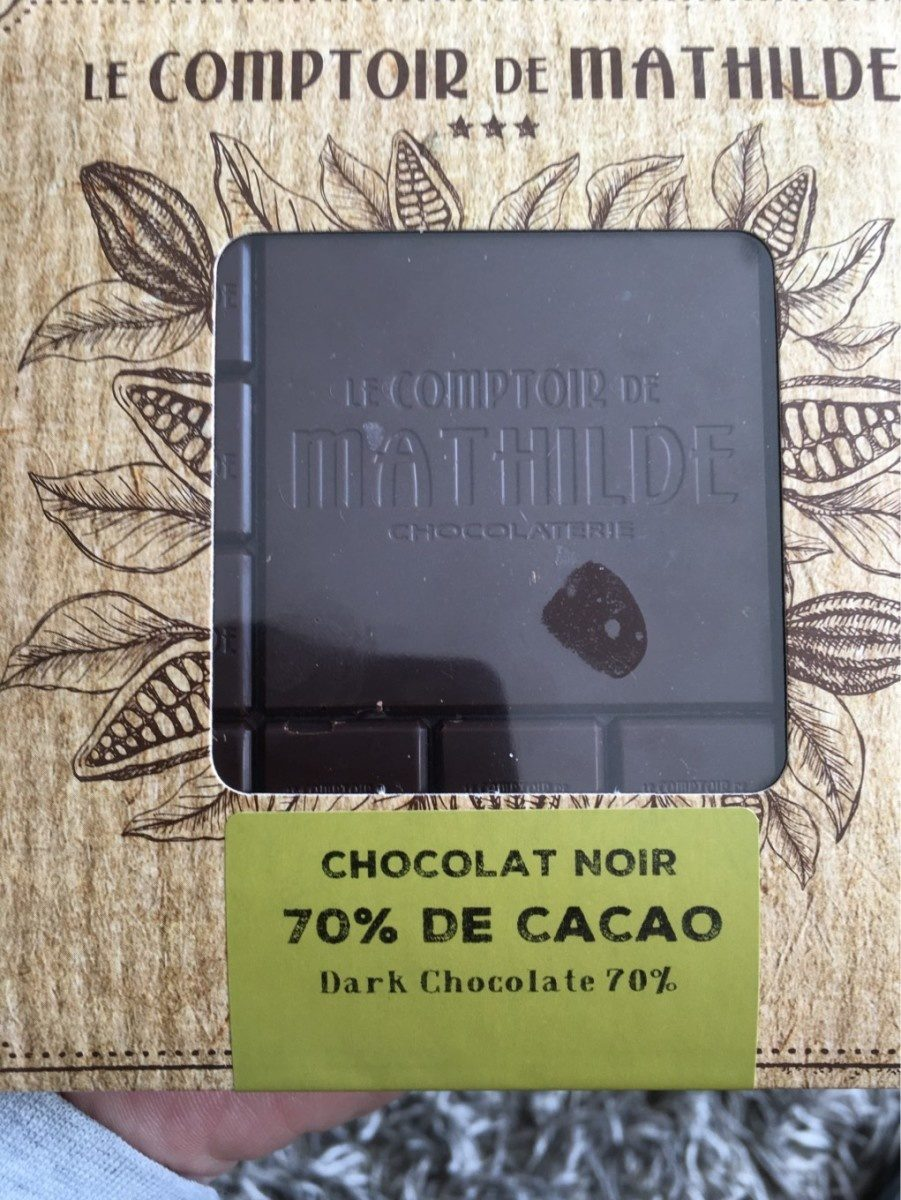 Chocolat Noir 70% cacao - Product - fr
