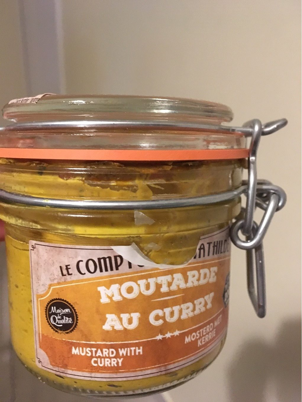 Moutarde Au Curry - Produit