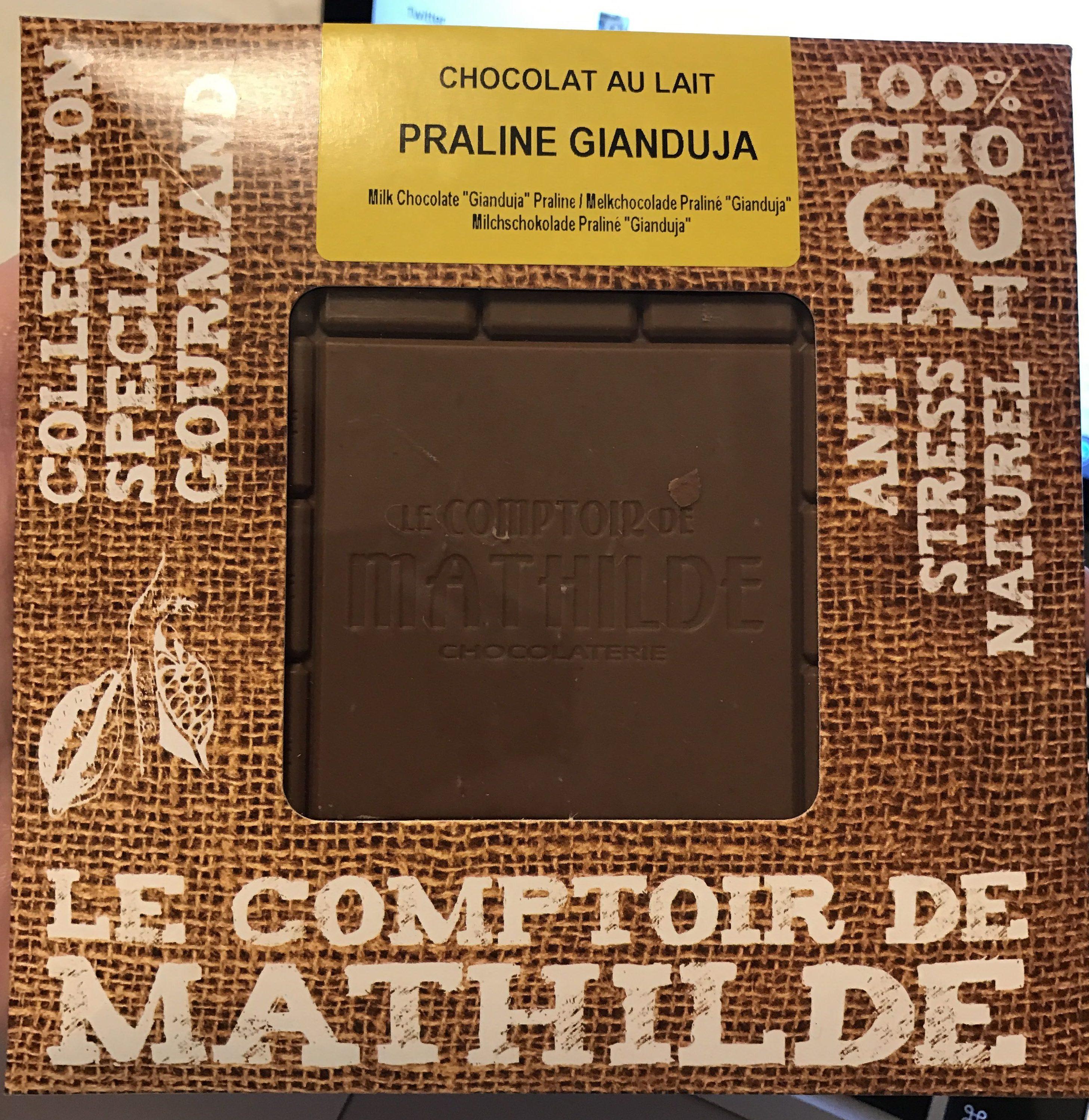 Chocolat au lait Praliné Gianduja - Product - fr