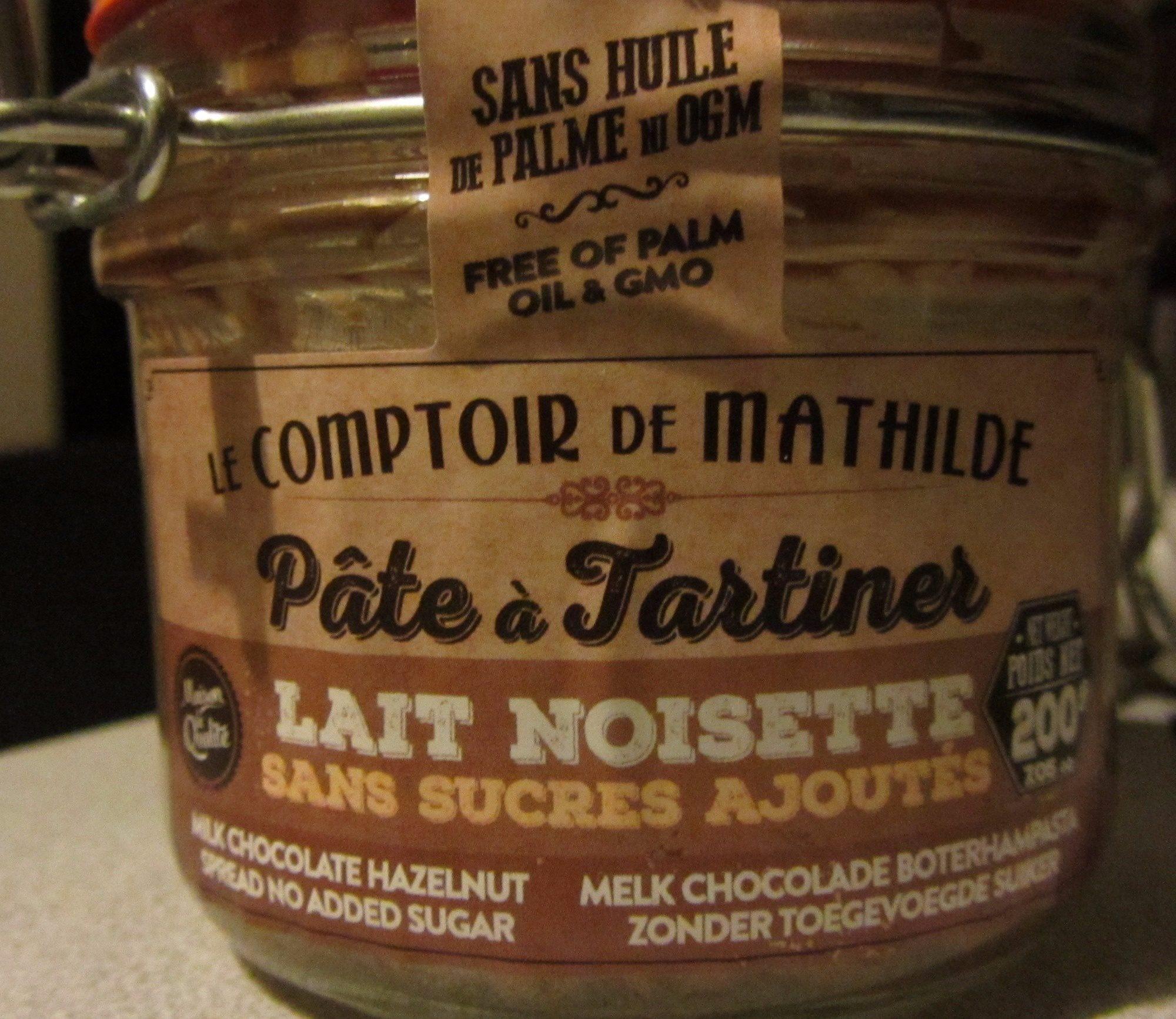 Pâte à Tartiner Lait Noisette - Product - fr