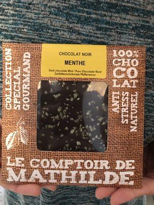 Chocolat Noir Menthe - 1
