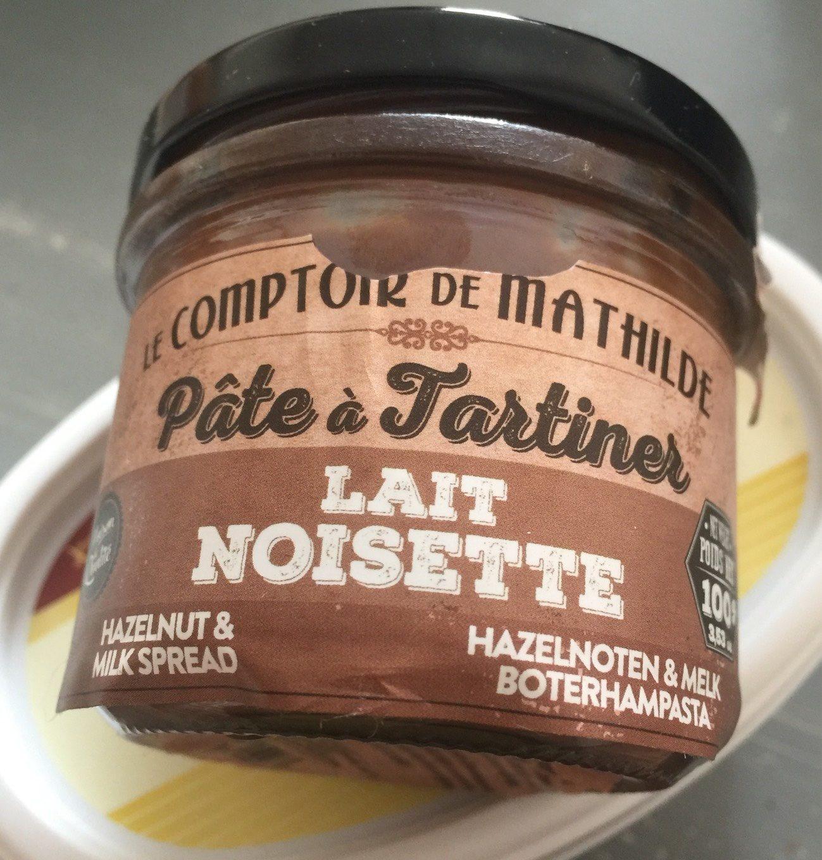 Pâte à tartiner LAIT NOISETTE - Prodotto - fr
