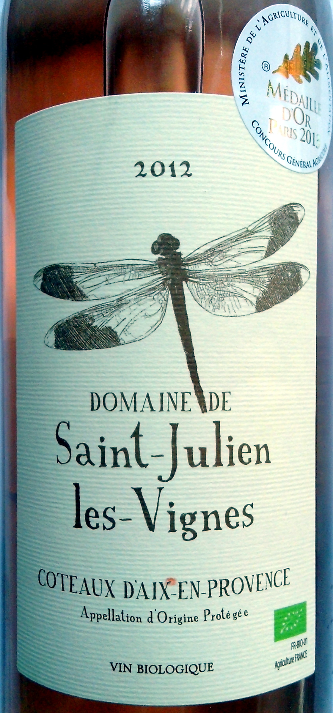 Saint-Julien les Vignes 2012 - Product - fr