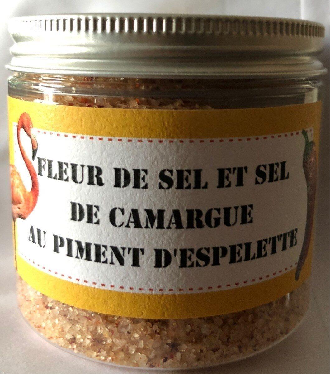 Fleur de sel de camargue au piment d'espelette - Producto - fr