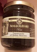 Tapenade d'olives noires - Product