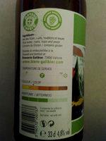 Galibier Alpine American Pale Ale - Ingrédients