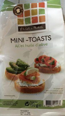 Mini -toasts - Produit