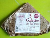 Galettes blé noir - Produit - fr