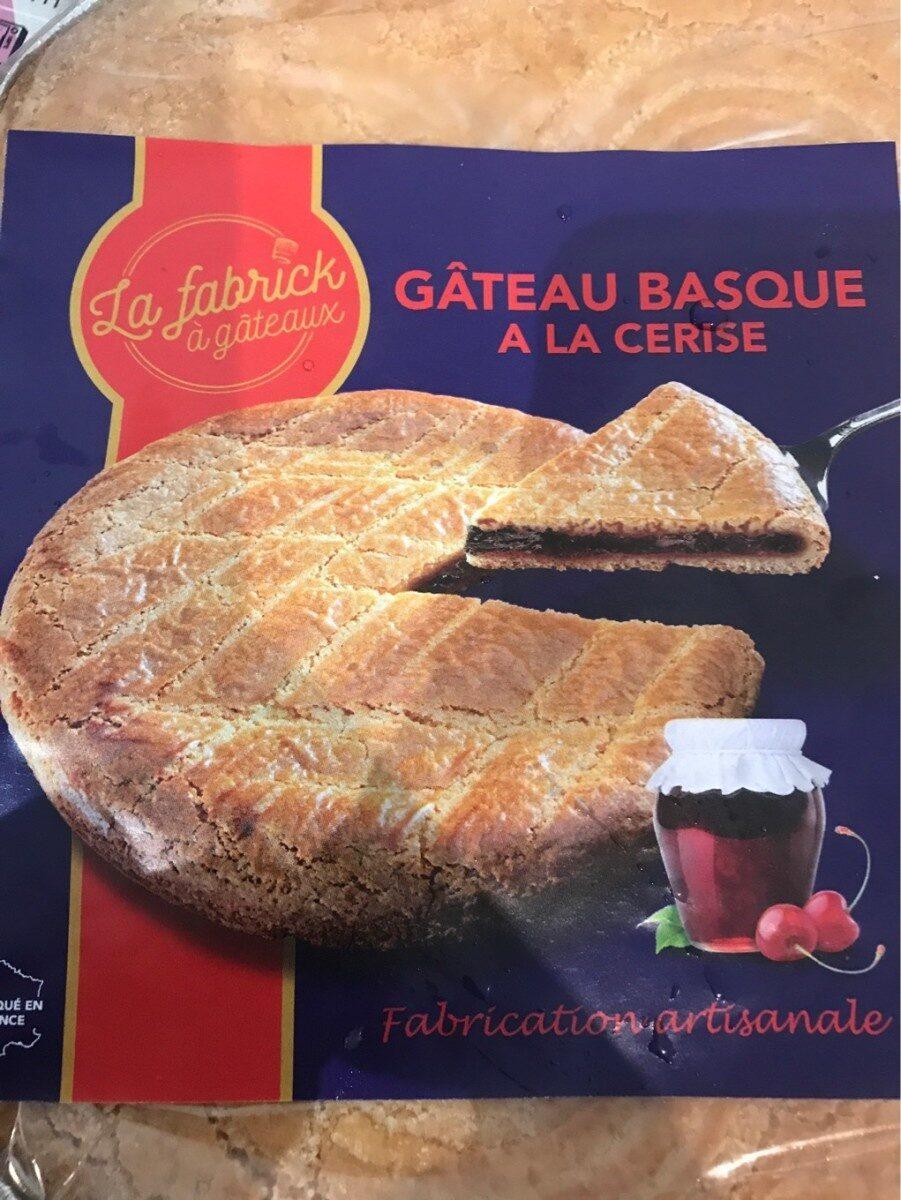Gateau basque à la cerise - Product - fr