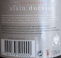 Sélection Alain Ducasse brut - Ingrediënten
