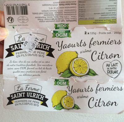 Yaourts fermier - Product
