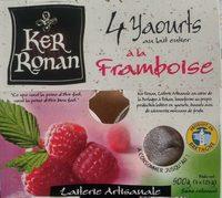 Yaourts framboise - Produit