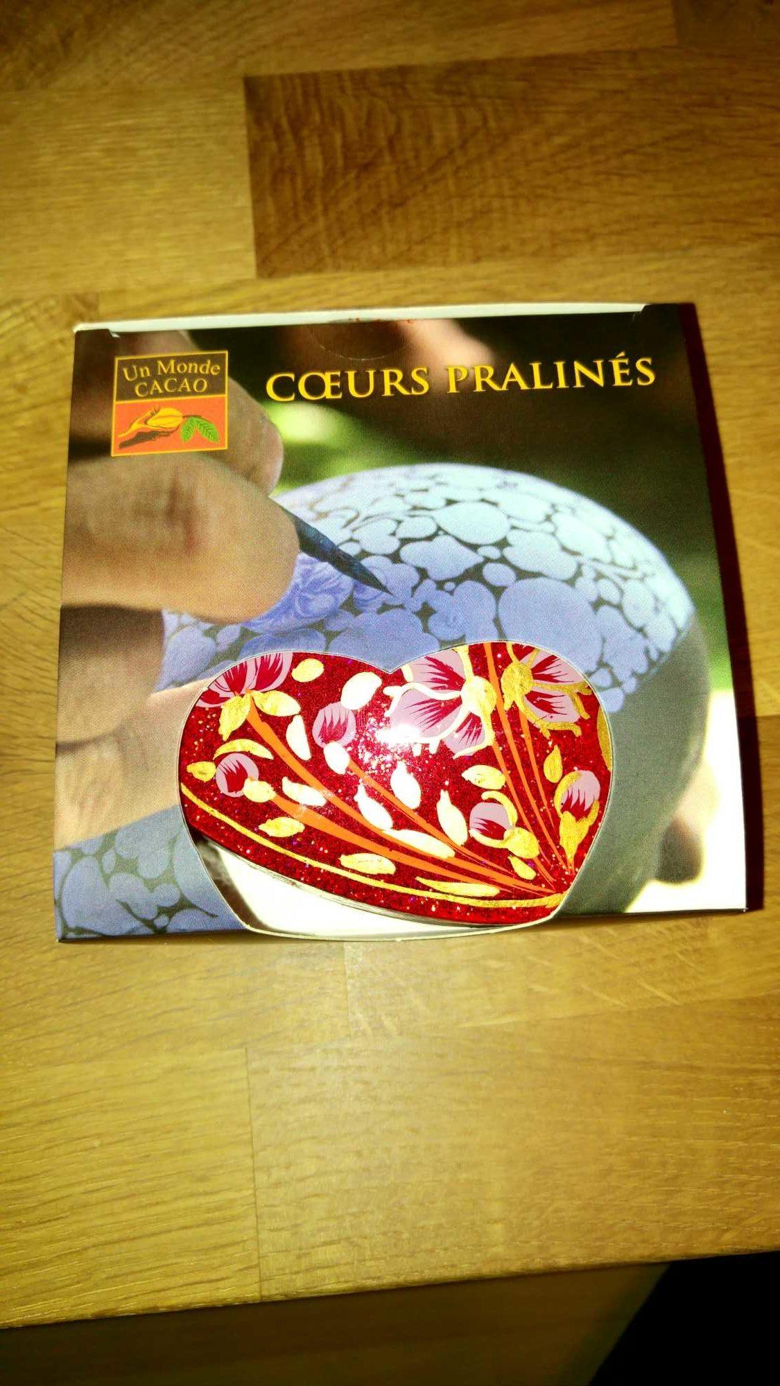 Cœurs pralinés - Produit - fr