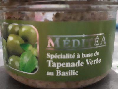 Tapenade verte au basilic - Product