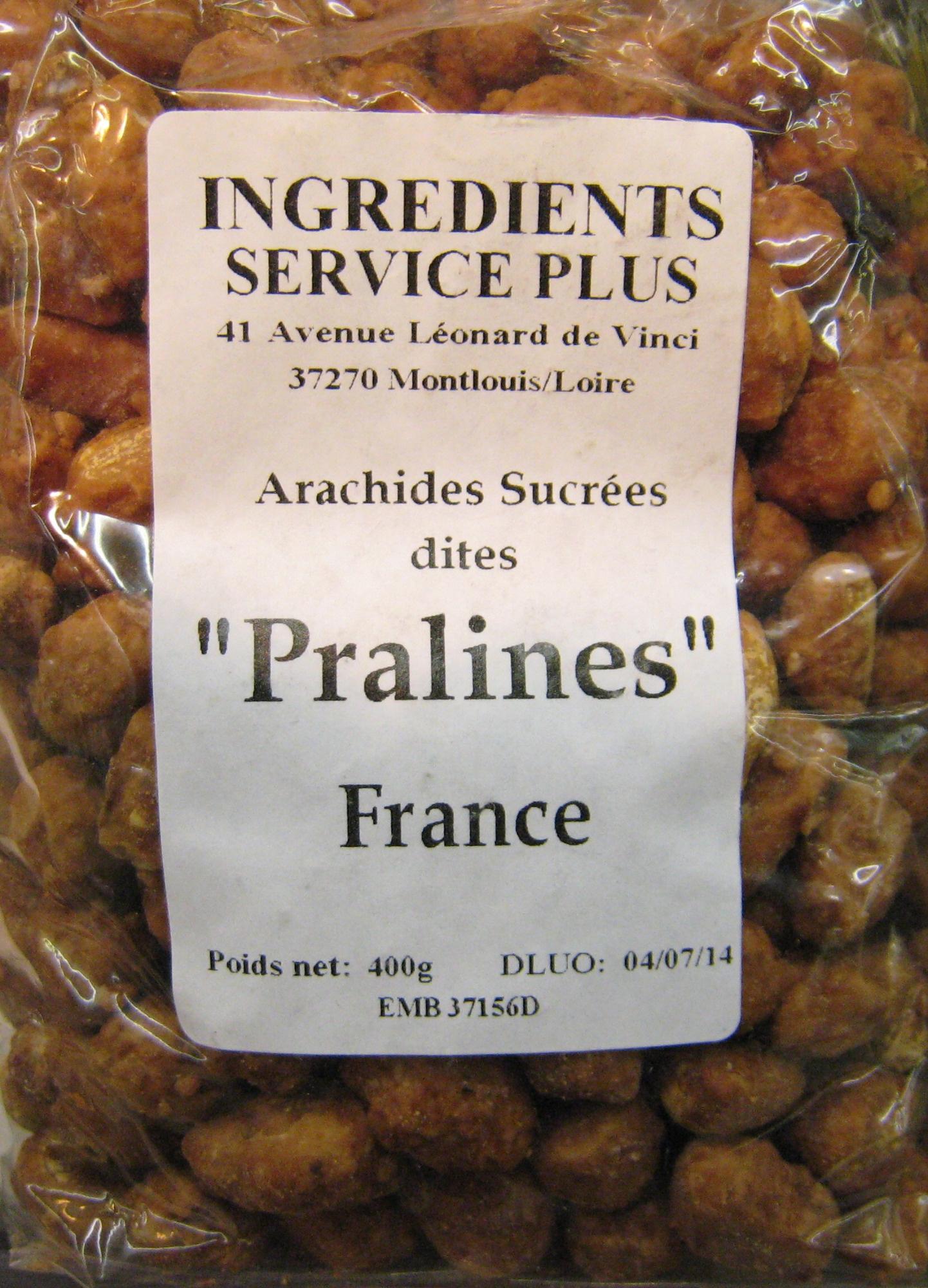 """Arachides Sucrées dites """"Pralines"""" - Produit"""
