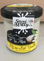 Riz au lait vanille - Product - fr