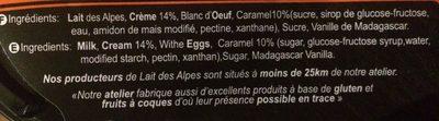 La panna cotta - Ingredients - fr