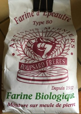 Farine d'Epeautre Type 80 - Ingredients