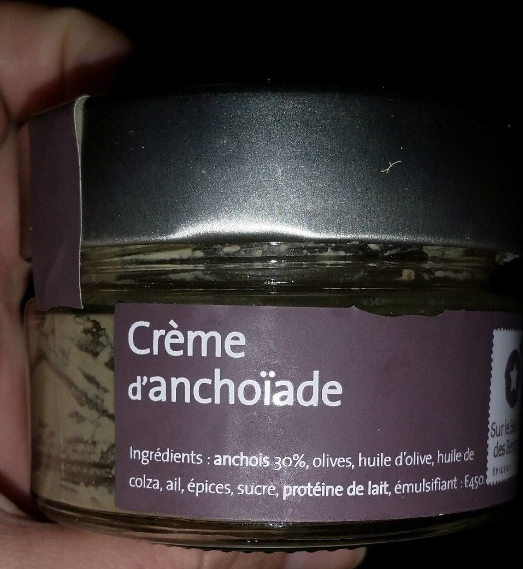 Creme d'anchoiade - Product - fr