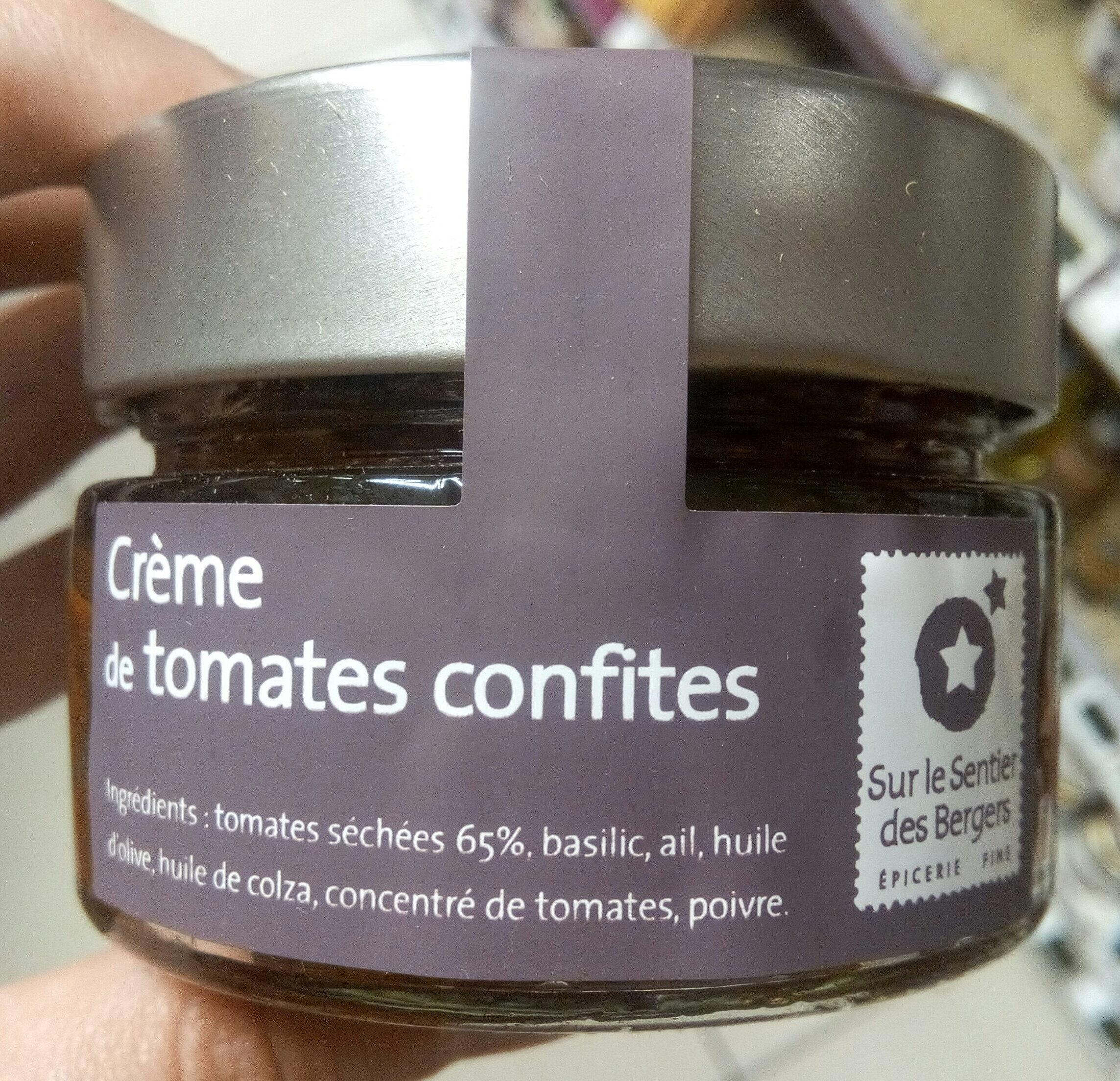 Crème de tomates confites - Product - fr