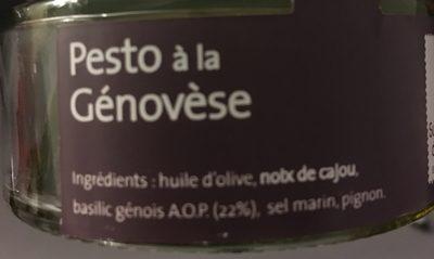 Pesto à la Génovèse - Ingredients - fr
